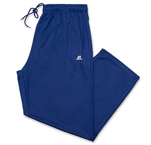 Russell Athletic Men's Big and Tall Dri-Power Pant Royal/White 5X