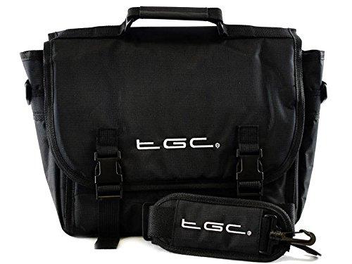 TGC® Messenger Fall Tasche für Samsung Galaxy Tab S 10.54G & Wi jet black jet black