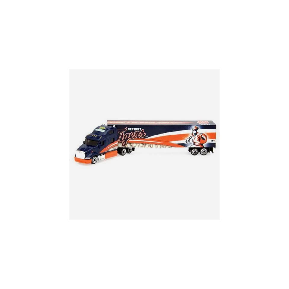 DETROIT TIGERS MLB 2008 Semi Diecast Tractor Trailer Truck 1/80 Scale   By Upperdeck
