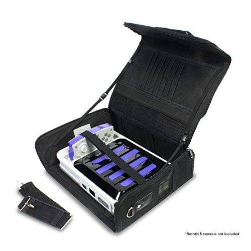 Hyperkin Travel Bag Carrying Case Pack for RetroN 5 with Adjustable Shoulder Strap