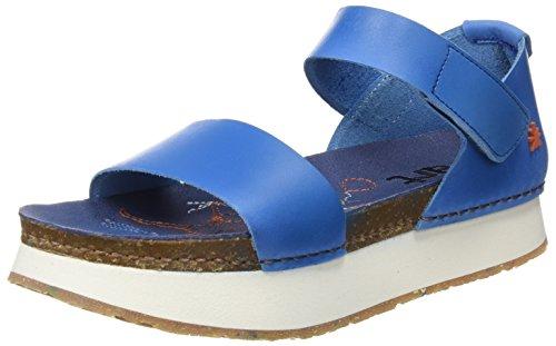 Sandalen Damen 1260 Peeptoe Mojave Blau Sea Art Mykonos f4Xdw4q