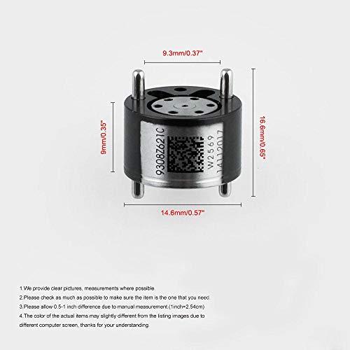para Bomba Delphi de Coche de veh/ículos V/álvula de Control de inyector di/ésel Eleganantamazing 28239294//9308-621C 4 Unidades