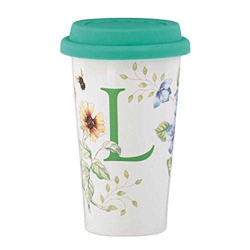 Lenox Butterfly Meadow Thermal Travel Mug, ()