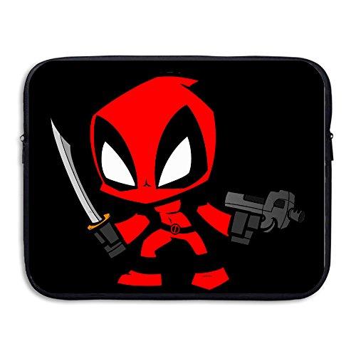Custom Fashion Funny Gun Cartoon Character Water-resistant Tablet Zipper Case 15 Inch (Dance Costume Designer Online)