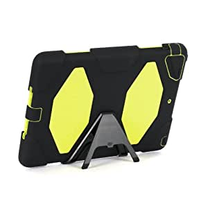 Griffin Survivor - Funda para Apple iPad Air, negro/lima