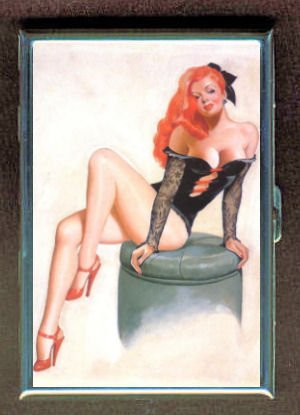 retro-redhead-pin-up-sexy-double-sided-cigarette-case-id-holder-wallet-with-rfid-theft-protection