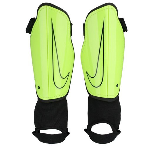 Nike Youth Charge 2.0 Soccer Shin Guard Volt/Black Size Medium (Best Shin Guards For Kids)