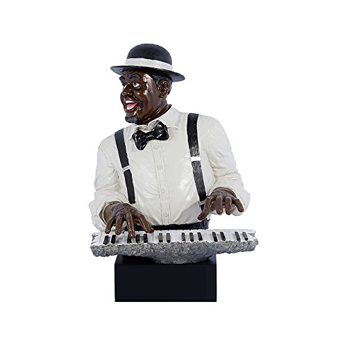 Estatua Homem Pianista Oldway - 52x36