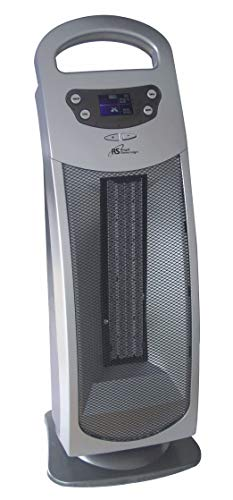 Royal Sovereign Digital Oscillating Ceramic Tower Heater Gray HCE-200