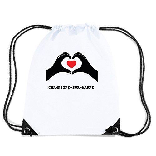 JOllify CHAMPIGNY-SUR-MARNE Turnbeutel Tasche GYM3301 Design: Hände Herz