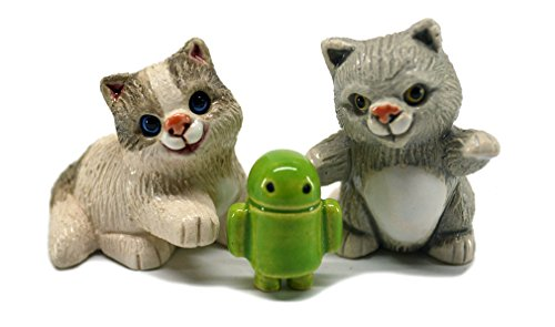 Rinconada 2017 Collection, 2 mini CATS with droid, 2.0¨H, #AR807A