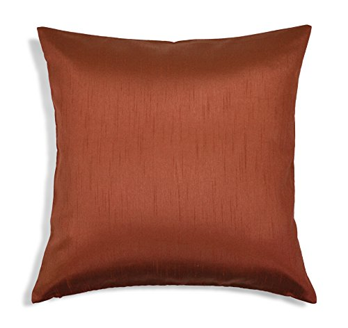 Aiking Home Solid Faux Silk Euro Sham/Pillow