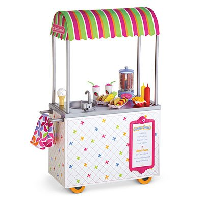 American Girl My AG Campus Snack Cart
