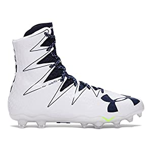 Under Armour Men's UA Highlight MC Football Cleats 10 White