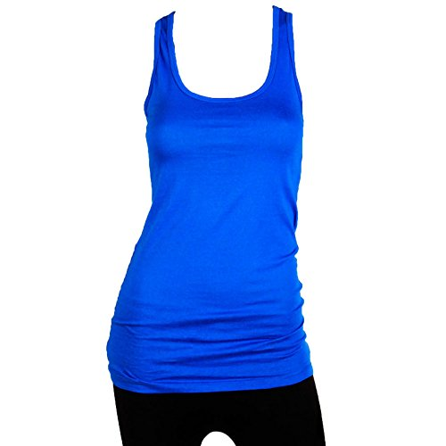 Royal Blue Tank Top - 7