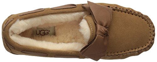 Slipper Bow Leather UGG Dakota Chestnut Women's pwISSUZWq0