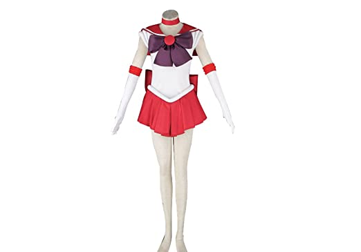 Another Me Anime Sailor Moon Rei Kino Mars Cosplay Costume Female Size Small