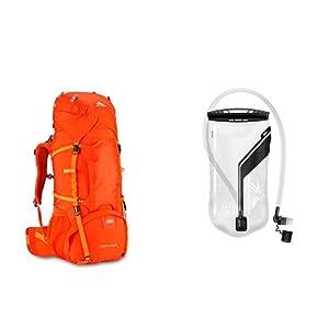 High Sierra 58442-5430 Classic 2 Series Explorer 55 Frame Backpack, Redline/Electric with 2L Reservoir