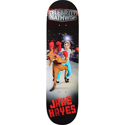 穏やかな出費配管Deathwish Hayes Celebrityスケートボードデッキ-8.12デッキ – Assembled as complete skateboard
