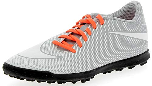 white Tf Grey total Nike Homme Bravatax Football White Blanco wolf Crimson Ii De Chaussures EE8Pqw