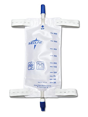 - MEDLINE DYND12574 DYND12574H Leg Bags with Twist Valve