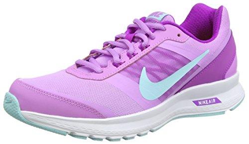 Nike Air Relentless 5 - Zapatillas de running para mujer, color fucsia / morado / blanco