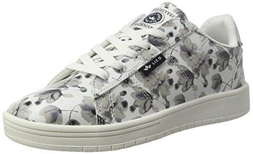 Bianco Sneaker Donna Grau Center Weiss Lico wO6qW0xU