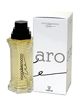 Roccobarocco Tre Perfume Eau de Parfum Spray for Women, 3.3 Ounce