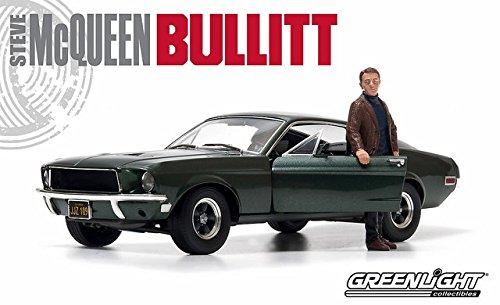 Greenlight 1/18 Bullitt 1968 Ford Mustang GT Fastback Green