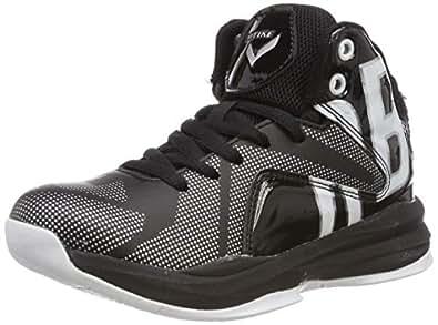 Zapatos de Baloncesto para Niños(Negro EU32)