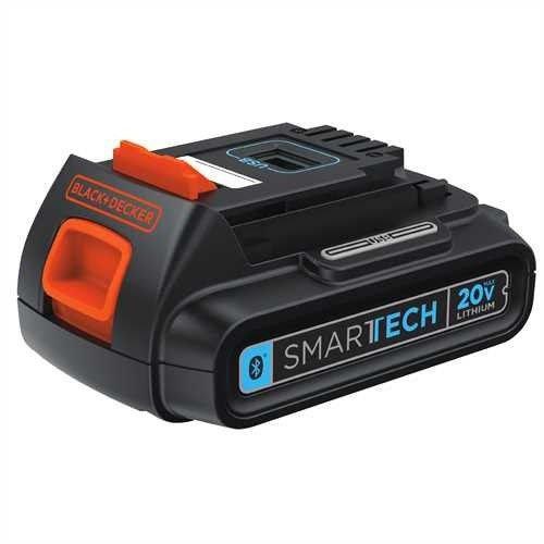 Black & Locks Tool Power Decker (BLACK+DECKER LBXR20BT  20V MAX SMARTECH Lithium Bluetooth 1.5AH Battery)