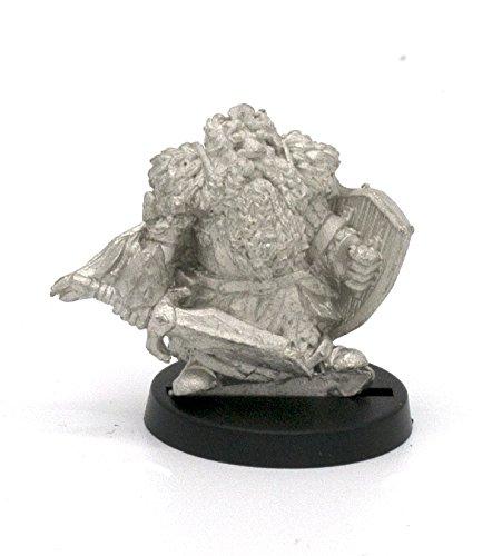 Stonehaven Dwarf Fallen King Miniature Figure (for 28mm Scale Table Top War Games) - Made in (Dwarf War Sword)