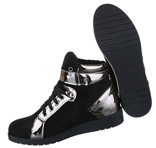 Freizeitschuhe Damenschuh Sneaker Turnschuh High-top Schnürer 36 37 38 39 40 41
