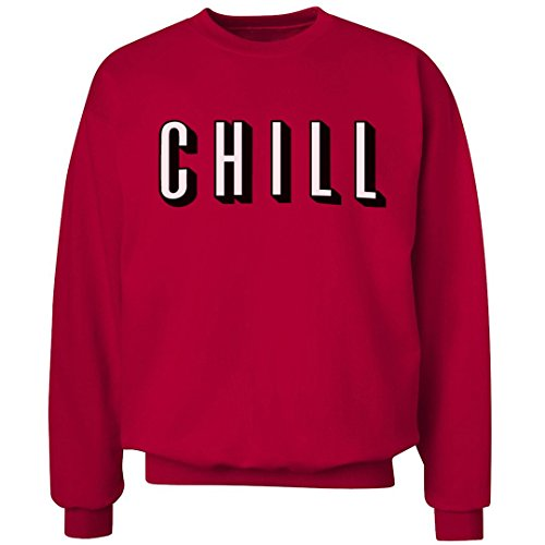 - FUNNYSHIRTS.ORG Netflix Chill Logo: Unisex Ultimate Crewneck Sweatshirt