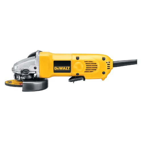 DEWALT DW802G 4-1/2-Inch Angle Grinder with Paddle Switch and Ground Wire