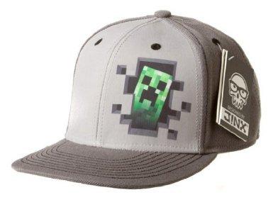 Minecraft Creeper Dentro premium Snap Back Gorra  Amazon.es  Videojuegos f1513ade60a