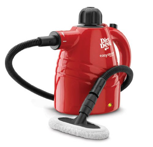 Dirt Devil Steam Cleaner Easy Steam Corded Handheld Steam Cleaner PD20005 (Jet Cleaners Carpet)