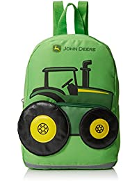 Boys' Tractor Toddler Backpack, Lime Green, One Size