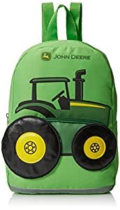 John Deere Tractor Toddler Backpack, Lime Green (Green) - JFL287GT