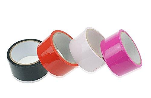 静電気テープを縛ったPVC無膠SM成人ゲームの黒赤 バラの赤 ピンク 4巻
