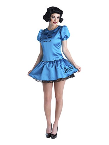 Charlie Brown Deluxe Lucy Adult Costume (S 6-8)