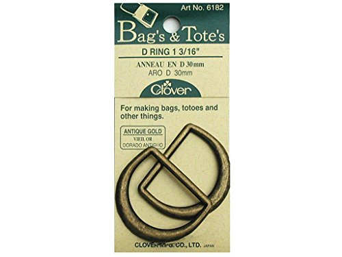 Clover Totes 16 Inch Rings Antique
