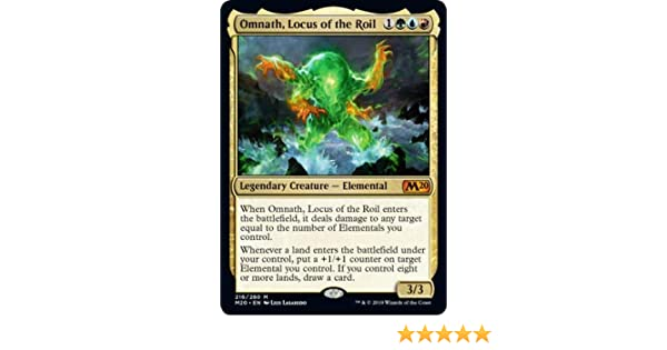 Locus of Rage ~ Battle for Zendikar ~ NearMint ~ Magic the Gathering Omnath