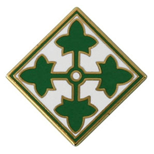 4th Infantry Division Lapel Pin ()