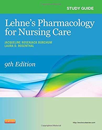 study guide for pharmacology for nursing care e book kindle rh amazon com pharmacology for nursing study guide free basic pharmacology for nurses study guide