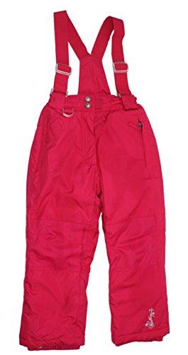 Girls Weatherproof 32 Degree Suspender Snow Pants (XS, Pink)