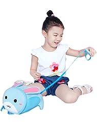BINGONE Toddler Backpack 3D Zoo Animal Cartoon Pre School