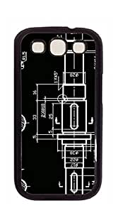 Design Hard Customized case Of Phone shell Samsung I9300 - CAD drawing