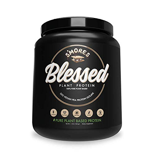 BLESSED Plant Based Protein Powder – 23 Grams, All Natural Vegan Protein, 2 Pounds, 30 Servings (Vanilla Chai) 4