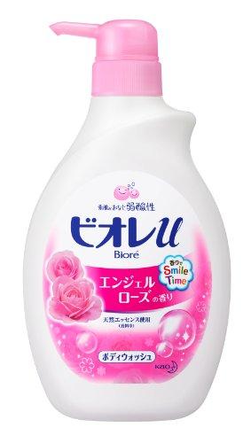 Biore U Angel Rose Scented Bodywash - Pump (Angel Scented Shower Gel)